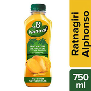 B Natural Ratnagiri Alphonso Bottle, 750 ml