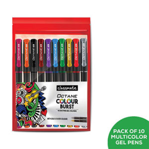 Classmate Octane Colour Burst - Count of 10 (assorted)