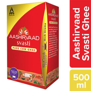 ITC Aashirvaad Pure Cow Ghee 500ML